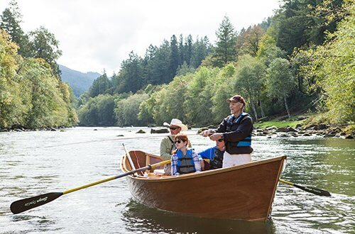 McKenzie River Drift Boat