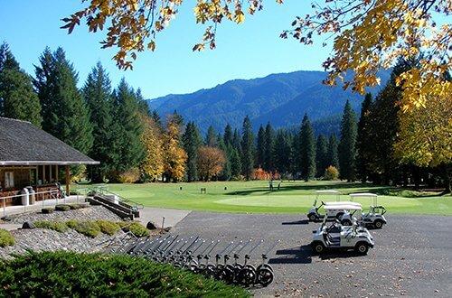 McKenzie River Golfing