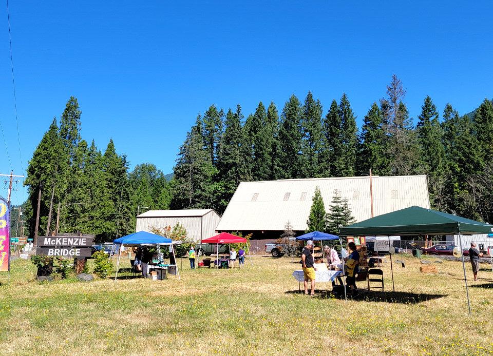 McKenzie Treasures Saturday Community Market